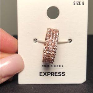 Express Ring- rose gold